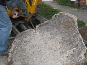 Concrete coming up by Maintenance Matters