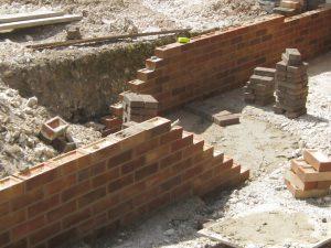 wall ready to back fill by Maintenance Matters