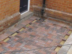 new front door access by Maintenance Matters